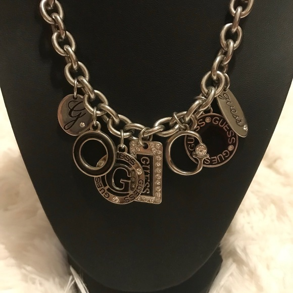 Guess Jewelry - Guess Charm Necklace
